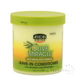 African Pride Olive Miracle Anti Breakage Formula Leave In Conditioner 15oz