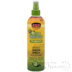 African Pride Olive Miracle Braid Sheen Spray 12oz