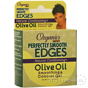 Africa's Best Organics Perfectly Smooth Edges Olive Oil Smoothing Control Gel 2.5oz