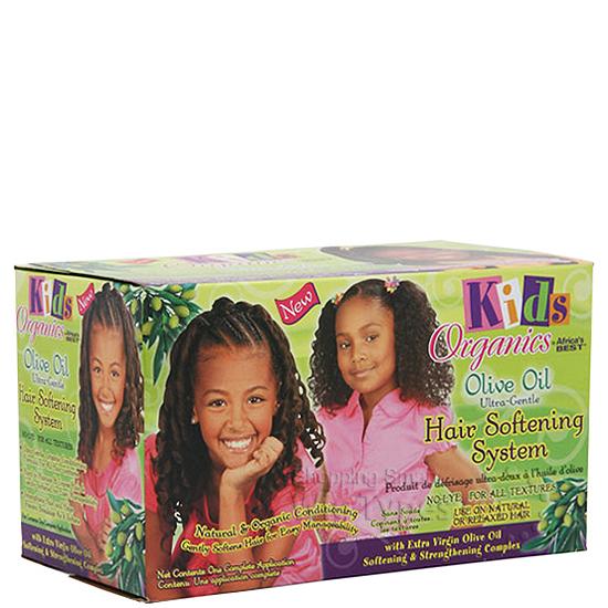Kids Organics Olive Oil Hair Softening System Kit Wigtypes Com