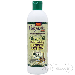 Africa's Best Organics Olive Oil Moisturizing Growth Lotion 12oz
