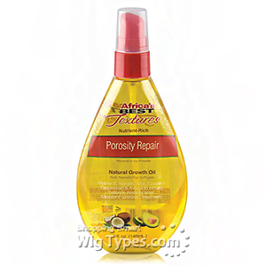 Africa's Best Textures Nutrient-Rich Porosity Repair Natural Growth Oil 5oz