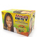 Africa's Best Dual Conditioning No-Lye Relaxer System Kit - Super