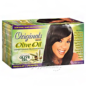 Africa's Best Originals Olive Oil Conditioning Relaxer - Normal
