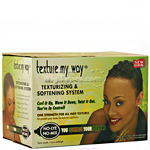 Africa's Best Organics Texture My Way Texturizing & Softening System Kit