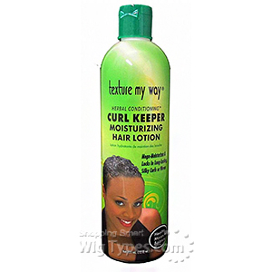 Texture My Way Herbal Conditioning Curl Keeper Moisturizing Hair Lotion 12oz