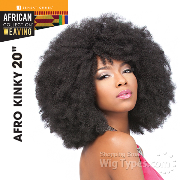 Afro Hair Kinky Weave Human Hair Extensions