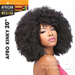 Sensationnel Synthetic Hair Weave - AFRO KINKY WVG 20