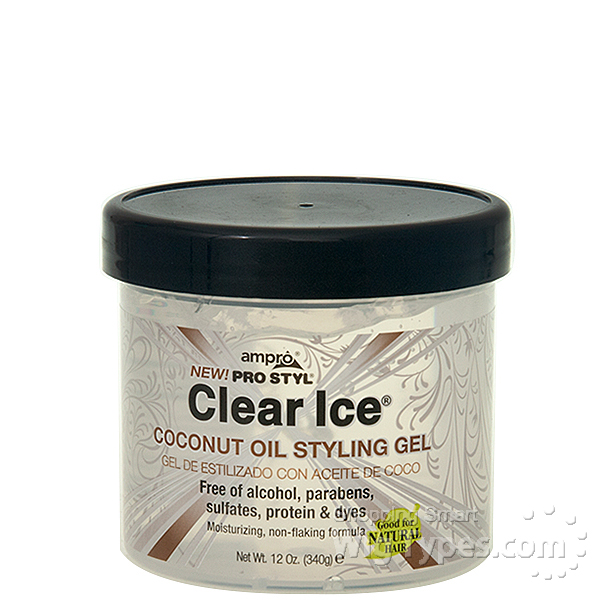 Clear Ice Gel For Natural Hair
