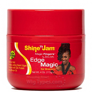 Ampro Shine 'N Jam Magic Fingers Edge Magic for Braiders 4oz