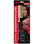 Hot & Hotter #5530 Electrical Straightening Comb Medium Straight Teeth