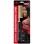 Hot & Hotter #5532 Electrical Straightening Comb Medium Double Sided Teeth