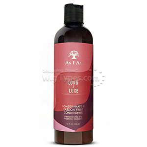 As I Am Long and Luxe Pomegranate & Passion Fruit Conditioner 12oz