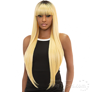 Awesome Good Hair Day Human Hair Blend Wig - UNICE