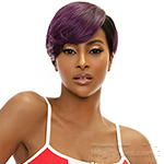Awesome T Lace Human Hair Blend Lace Wig - TL JOSIE