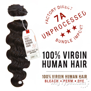 Sensationnel 100% Virgin Human Hair Bare & Natural - 7A LOOSE DEEP