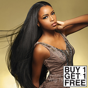 Sensationnel 100% MALAYSIAN Virgin Remi Bundle Hair Bare & Natural - NATURAL STRAIGHT 10 (Buy 1 Get 1 FREE)