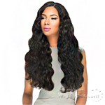 Sensationnel 100% Virgin Remi Bundle Hair Bare & Natural Silk Lace Closure - EURO BODY 12