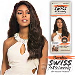 Sensationnel 100% Brazilian Virgin Remi Bare & Natural 4x4 Swiss Lace Wig - EURO BODY