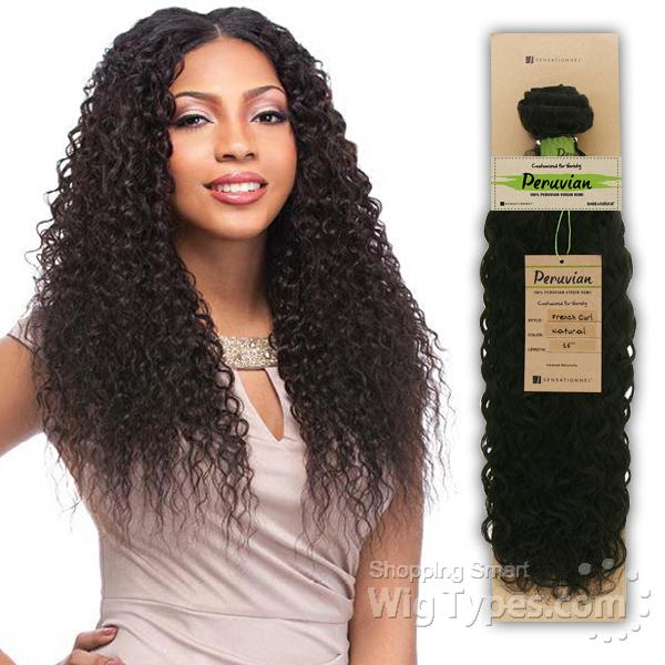 Sensationnel 100 Virgin Remi Bundle Hair Bare Natural Peruvian