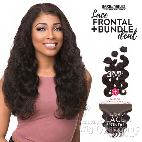 Bare And Natural Brazilian Hair Body Wave