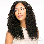 Sensationnel 100% Virgin Remi Bundle Hair Bare & Natural Silk Lace Closure - EURO DEEP 12