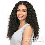 Sensationnel 100% Virgin Remi Bundle Hair Bare & Natural Silk Lace Closure - FRENCH TWIST 12