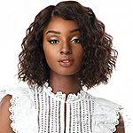 Sensationnel 100% Virgin Human 10A Lace Wig - NATURAL WAVE BOB