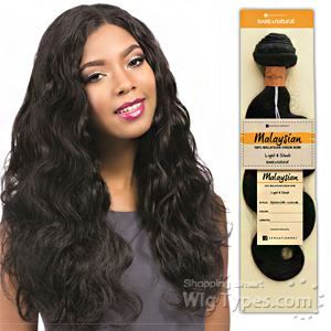 Sensationnel 100% MALAYSIAN Virgin Remi Bundle Hair Bare & Natural - BODY WAVE 20