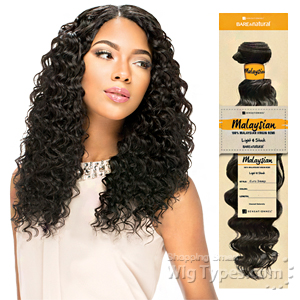 Sensationnel 100% MALAYSIAN Virgin Remi Bundle Hair Bare & Natural - EURO DEEP 12