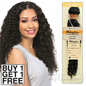 Sensationnel 100% MALAYSIAN Virgin Remi Bundle Hair Bare & Natural - FRENCH TWIST (Buy 1 Get 1 FREE)