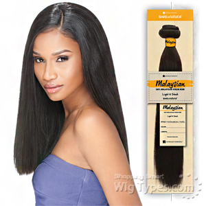 Sensationnel 100% MALAYSIAN Virgin Remi Bundle Hair Bare & Natural - YAKI 14