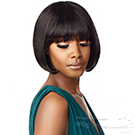 Sensationnel 100% Virgin Human Hair 10A Full Wig - 10A STRAIGHT 9