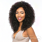 Sensationnel 100% Peruvian Virgin Remi Bundle Hair Bare & Natural - WET & WAVY BOHEMIAN 1pk (10/10/12/12/14/14 + Silk Base Closure)
