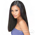 Sensationnel 100% Virgin Remi Bundle Hair Bare & Natural Silk Lace Closure - NATURAL YAKI 12