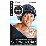 "Magic Collection #2160BLA 21"" Extra Large Shower Cap Black"