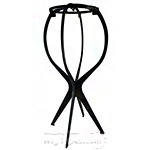 Magic Collection #WST1BLA Wig Stand Multi-Purpose Use 3pcs Set