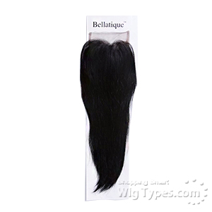 Bellatique 100% Virgin Brazilian Remy Hair 4x4 Full Lace Closure - STRAIGHT