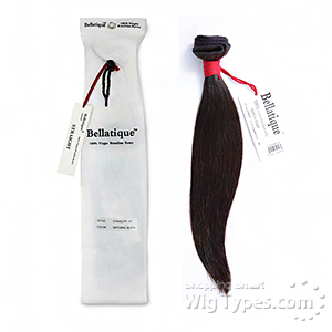 Bellatique 100% Virgin Brazilian Remy Hair Weave - STRAIGHT
