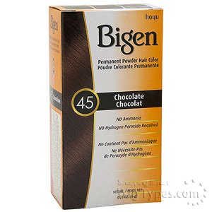 Bigen Powder Hair Color 45 Chocolate