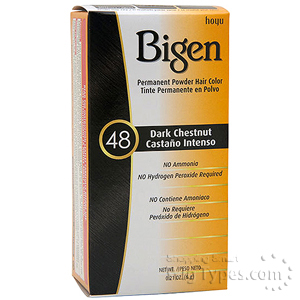Bigen Powder Hair Color 48 Dark Chestnut