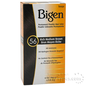 Bigen Powder Hair Color 56 Rech Medium Brown