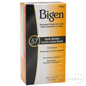 Bigen Powder Hair Color 57 Dark Brown