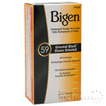 Bigen Powder Hair Color 59 Oriental Black
