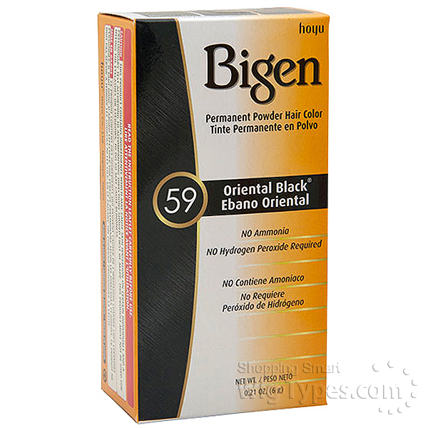 Bigen Semi Permanent Hair Color Ingredients