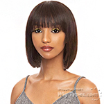 The Wig Black Pink 100% Brazilian Virgin Remy Human Hair Wig - HHBW DREAM GIRL