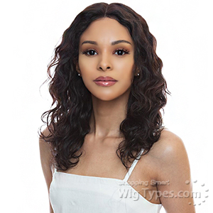 The Wig Black Pink 100% Brazilian Virgin Remy Human Hair 360 Lace Wig - HBL360 BODY 16-18