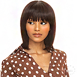 The Wig Black Pink 100% Brazilian Virgin Remy Human Hair Wig - HHBW HI