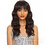 The Wig Black Pink 100% Brazilian Virgin Remy Human Hair Wig - HHBW MELODY