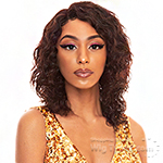 The Wig Black Pink WET & WAVY 100% Brazilian Virgin Remy Hair HD Lace Part Wig - HBL WET N LOOSE DEEP
